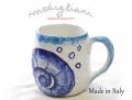 140402Modigliani モディリアーニイタリア製陶器MEDITERRANEOさかなマグカップMD11385