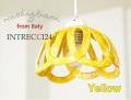 140829Modigliani モディリアーニイタリア製陶器のランプシェードペンダントライトINTLAMPC24イエロー