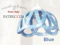 140830Modigliani モディリアーニイタリア製陶器のランプシェードペンダントライトINTLAMPC24ブルー