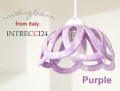 140831Modigliani モディリアーニイタリア製陶器のランプシェードペンダントライトINTLAMPC24パープル