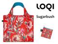 LOQIローキー ブランド エコバッグ 折り畳み 大きいサイズ 花柄 オシャレ WILD Collection Sugarbush
