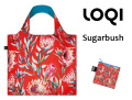 160310LOQIローキー ブランド エコバッグ 折り畳み 大きいサイズ 花柄 オシャレ WILD Collection Sugarbush