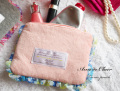160906ティッシュポーチ 小物入れ ティッシュケース付ポーチ Ami de Clairアミドゥクレール ピンク