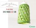 170107ペンダントライト イタリア製 陶器製 ランプシェード Modigliani モディリアーニ INTLAMPTU18 グリーン 緑