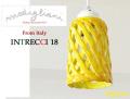170108ペンダントライト イタリア製 陶器製 ランプシェード Modigliani モディリアーニ  INTLAMPTU18 イエロー 黄色