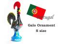 170343ポルトガルの幸せを呼ぶ雄鶏 ガロ 置物 オーナメント S