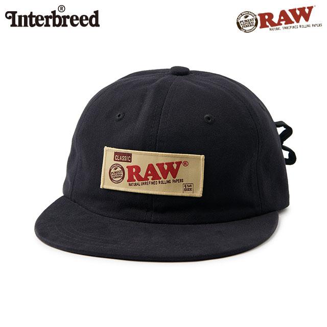 INTERBREED X RAW ROLLERS CAP インターブリード ロウ キャップ 帽子
