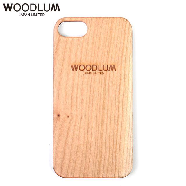 WOODLUM REAL WOOD LOGO iPhone CASE 6 6S 7 7S 8 ウッドラム 木製 アイフォンケース
