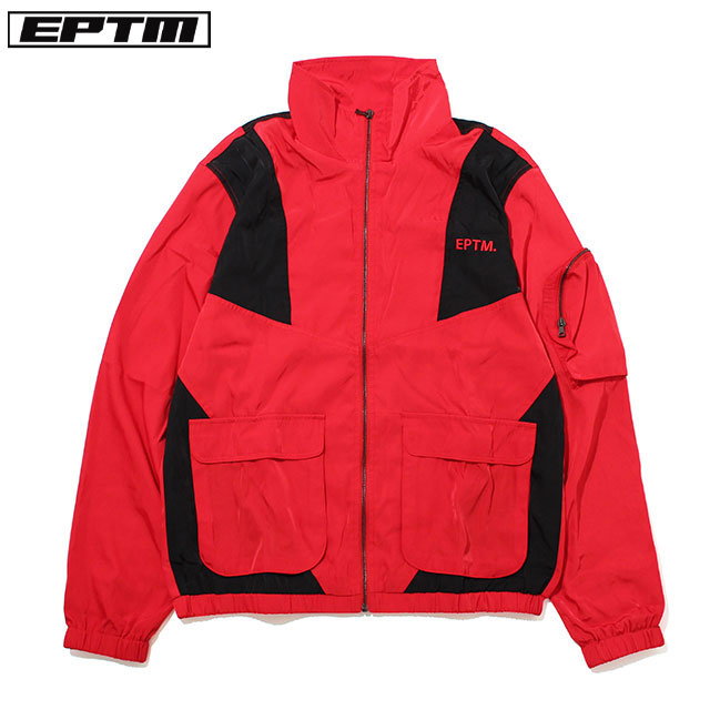 EPTM. COLOR BLOCK NYLON JACKET エピトミ ナイロン ジャケット (2色展開)