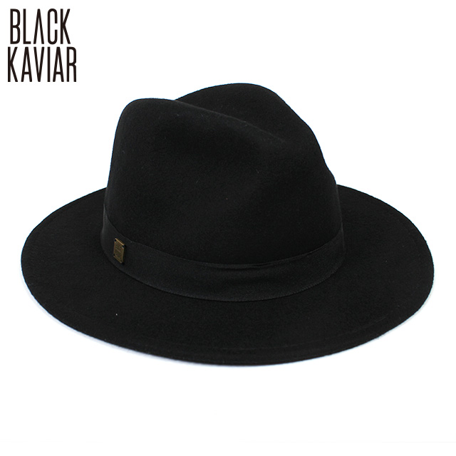 BLACK KAVIAR_M-1473 HAT_ウールハット