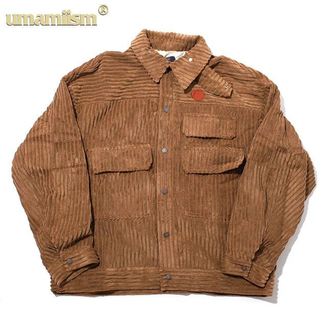 UMAMIISM CORDUROY TOWEL COMMUTER SHIRTS JACKET ウマミズム コーデュロイ シャツ ジャケット (2色展開)