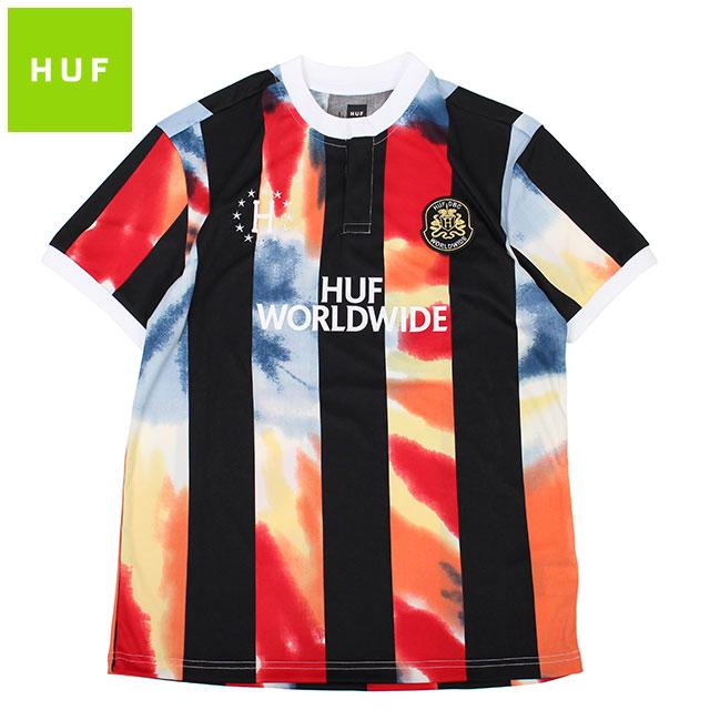 HUF DBC FC BAD REFEREE SS JERSEY ハフ サッカーシャツ レフェリーシャツ 半袖シャツ (2色展開)