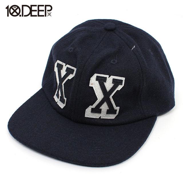 10DEEP_DOUBLE X UNCONSTRUCTED HAT_スナップバック キャップ