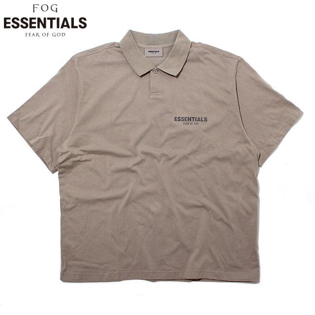 FOG ESSENTIALS POLO SS SHIRTS フィアオブゴッド エッセンシャルズ 半袖 ポロシャツ (2色展開)