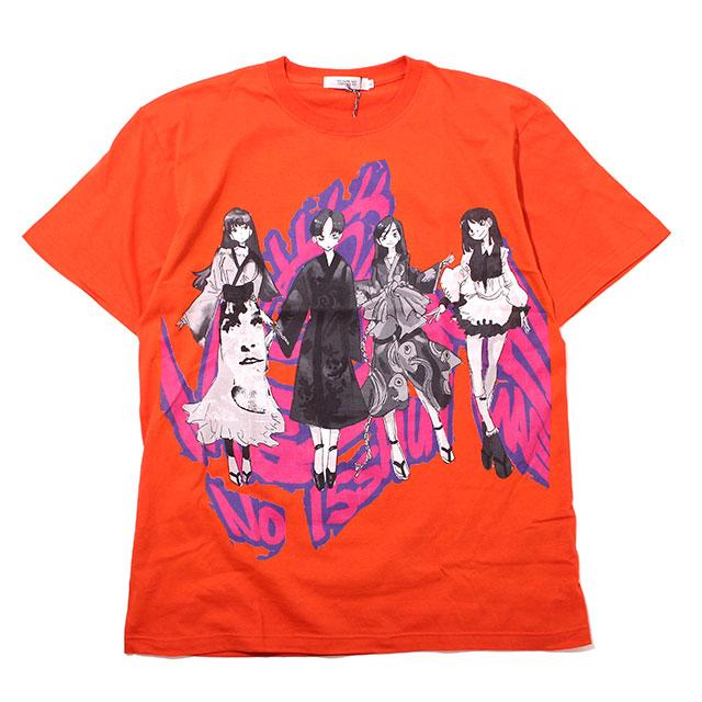 目覚めの一瞬前 X JUN INAGAWA MEZAME NO ANIME GIRL'S TYPE A SS TEE ジュンイナガワ 半袖 Tシャツ (2色展開)