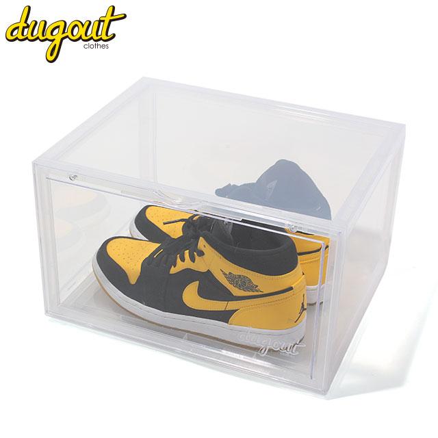 【送料込み・同梱不可】 DUGOUT SNEAKER BOX 6PCS ダグアウト スニーカー 収納ケース ボックス 6個セット