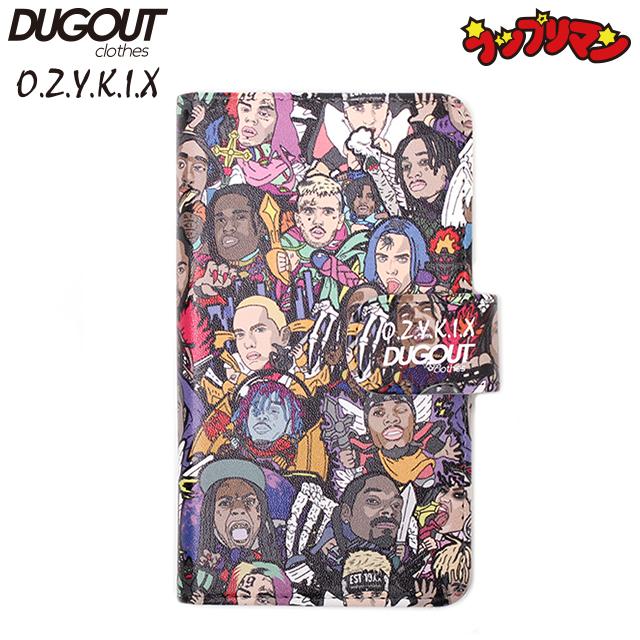 DUGOUT X O.Z.Y.K.I.X RAP-RI-MAN VER 2.0 SMART PHONE CASE ダグアウト オージーキックス ラップリマン マルチ スマホ ケース カバー