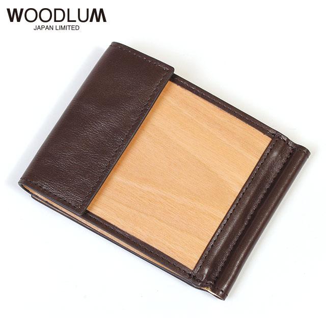 WOODLUM_REAL WOOD CLUB WALLET_木製 マネークリップ 財布