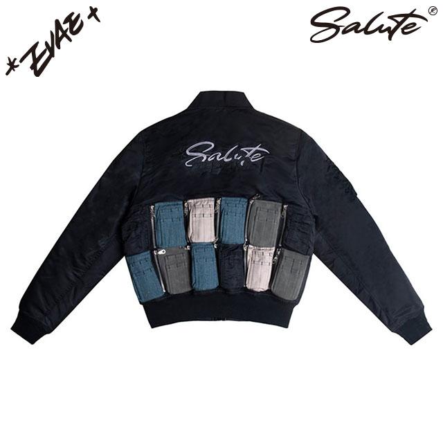 SALUTE X EVAE MOB BOMBER JACKET サルーテ エバーモブ ボンバー ジャケット