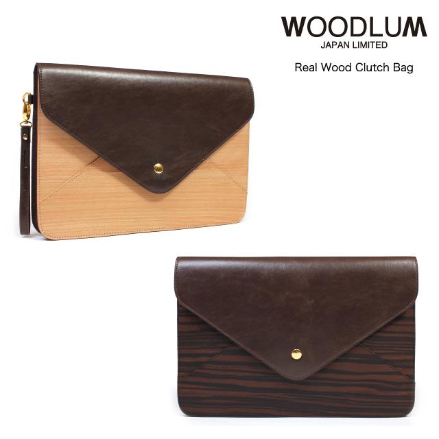 WOODLUM_REAL WOOD CLUTCH BAG_木製クラッチバッグ ウッド