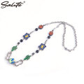 SALUTE CACTUS FLOWER FLAME NECKLACE サルーテ ネックレス