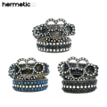 HERMETIC SMILE PYTHON KNUCKLE CRYSTAL BELT ヘルメティックスマイル ベルト (3色展開)