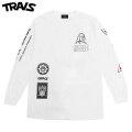 TRAVS X FRANKS CHOP SHOP LS TEE トラビス 長袖 Tシャツ (2色展開)