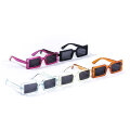 NEWVINTAGE OBLONG CLEAR SUNGLASSES サングラス (5色展開)