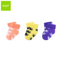 HUF PLANTLIFE BABY SEED SOCKS 3P SET BLUE IRIS ハフ ベビー ソックス セット