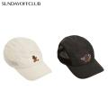 SUNDAY OFF CLUB TORN SADDY BEAR ARTWORK CAMP CAP キャップ 帽子 (2色展開)