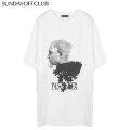 SUNDAY OFF CLUB DISORDER' PUZZLE ARTWORK 1/2 SS TEE サンデーオフクラブ SOC 半袖 Tシャツ (2色展開)