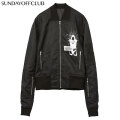 SUNDAY OFF CLUB 10 COMPLEX CROSSING THROUTS MA-1 JACKET サンデーオフクラブ SOC ミリタリー フライト ジャケット