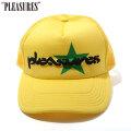 PLEASURES VIBRATION MESH TRUCKER CAP プレジャーズ メッシュキャップ 帽子