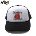 HWA BALLIN TRUCKER HAT HUMAN WITH ATTITUDE ヒューマンウィズアティチュード  メッシュキャップ 帽子