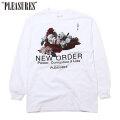 PLEASURES X NEW ORDER POWER LS TEE 長袖 Tシャツ