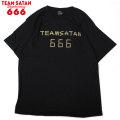 TEAM SATAN SKATE BOARDING 666 DECKS SS TEE チームサタン 半袖 Tシャツ (3色展開)