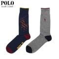 POLO RALPH LAUREN 2P SOCKS D ソックス 靴下