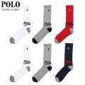 POLO RALPH LAUREN 6P LONG SOCKS ソックス 靴下