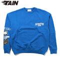 TAIN DOUBLEPUSH POWER DEPARTMENT HEAVY CREW SWEAT スウェットシャツ (2色展開)