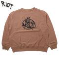 RIOT FACETASM GRAFFITI LOGO SWEAT SHIRTS スウェットシャツ (2色展開)