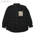 LAID BACK TWEED DRESS SHIRTS ツイード 長袖シャツ (2色展開)