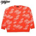 MYNE JACQUARD KNIT PULLOVER SHIRTS セーター (3色展開)
