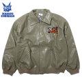 MAISON EMERALD EMBROIDERY COACH JACKET コートジャケット