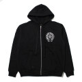 CHROME HEARTS LOS ANGELES EXCLUSIVE THERMAL-LINED ZIP UP HOODIE フーディー