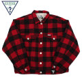 GUESS GREEN LABEL CHECKED BUTTON JACKET ゲス グリーンレーベル チェック ボタン ジャケット GGL FW19 (3色展開)
