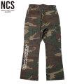 NCS SLIM FLARE PANTS フレアパンツ (2色展開)