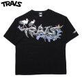 TRAVS X PLUTOMIMI BLACK SS TEE 半袖 Tシャツ