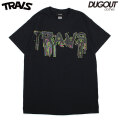TRAVS BLOOD SS TEE DUGOUT LIMITED COLOR トラビス 半袖 Tシャツ (2色展開)