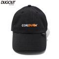 DUGOUT CLOTHES CORDUGA 6 PANEL CAP ダグアウト コーデュラ ナイロン 6パネル キャップ マスク付き
