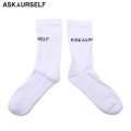 ASKYURSELF AY LOGO SOCKS 靴下 ソックス